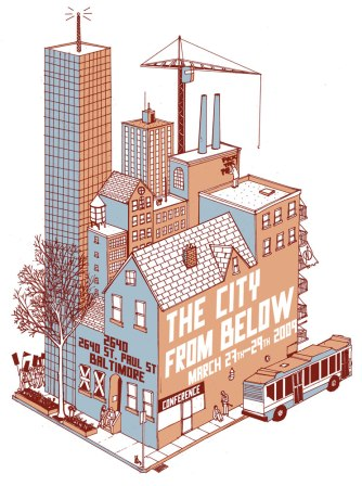 The City From Below Poster