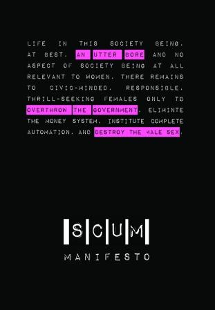 SCUM Manifesto cover